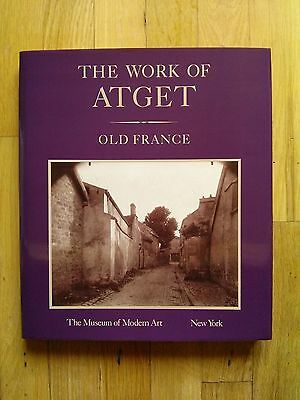 THE WORK OF ATGET - Volume 1 - Old France - First Edition - NEW