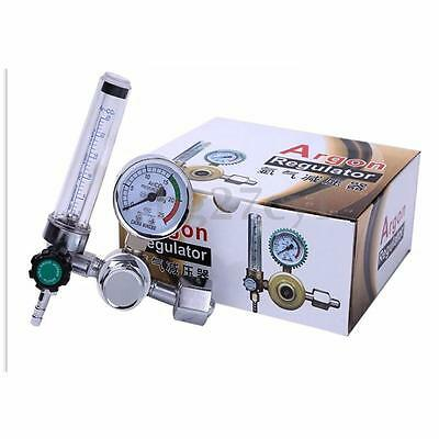 Argon CO2 Gas Mig Tig Flow Meter Welding Weld Gas Regulator Gauge 0-25MPa