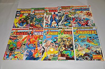 Invaders 1-40  Annual 1 Complete Run Sub-Mariner NICE! Missing # 41 only