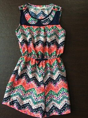 2 Girls Romper Style Outfits Size 7/8