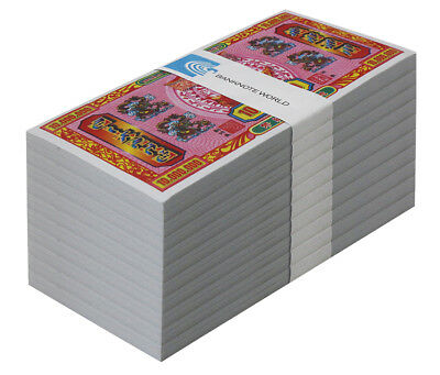 China - Chinese Hell Money Banknotes 10 Million Yuan X 1,000 Pieces,UNC,Brick