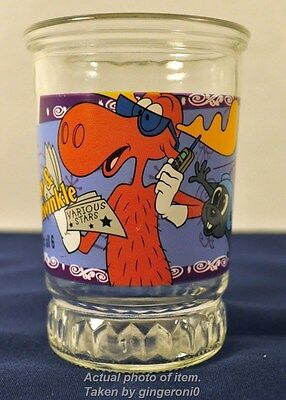 Bama Jelly Glass #6 of 6 The Adventures of Rocky and  Bullwinkle