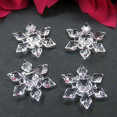 Christmas Snowflakes 12pcs Ornaments Festival Party Xmas Tree Hanging Decoration