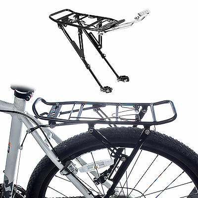 Alloy Bicycle Cycle Bike MTB Disc Brake Rear Pannier Rack Carrier For 24-28""