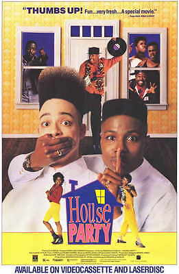 HOUSE PARTY Movie Promo POSTER Martin Lawrence