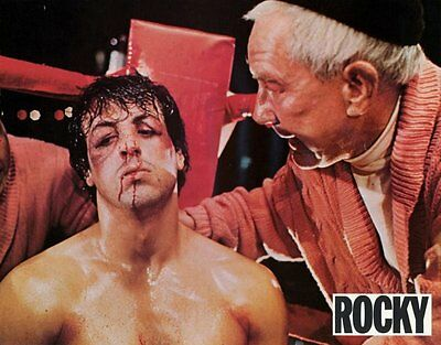 ROCKY Movie POSTER 11x14 French E Sylvester Stallone Talia Shire Burgess