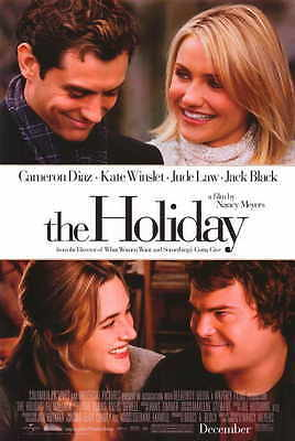 THE HOLIDAY Movie MINI Promo POSTER Cameron Diaz Kate Winslet Jude Law