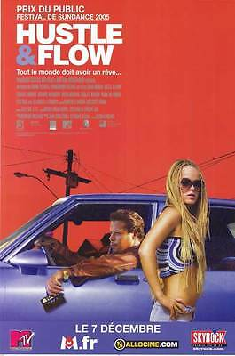 HUSTLE AND FLOW Movie POSTER 11x17 French Terrence Dashon Howard DJ Qualls