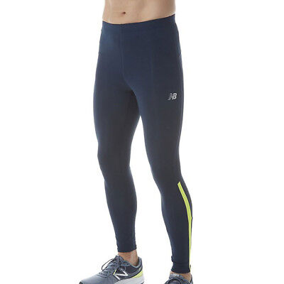 New Balance Accelerate Mens Black Running Work Out Tights Bottoms Pants