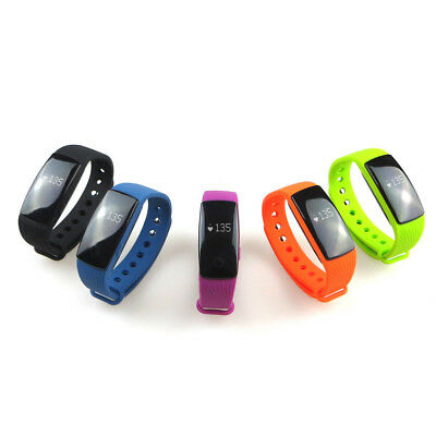 US ID107 Smart Watch with Heart Rate Monitor Pedometer Remote Camera Function