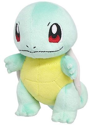 """Sanei Pokemon Pokemon Go All Star Collection Squirtle (PP17) 6"""" Plush AUTHENTIC"""