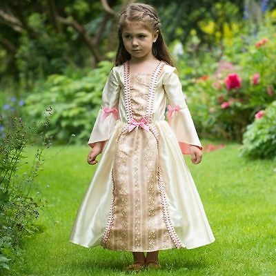 Girls DAMASK DUCHESS Dress Dressing Up Outfit Patterned  Age 6-8 Years