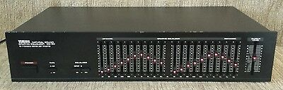Yamaha EQ-50 Natural Sound Graphic Equalizer 10 1-Octave Bands per Channel