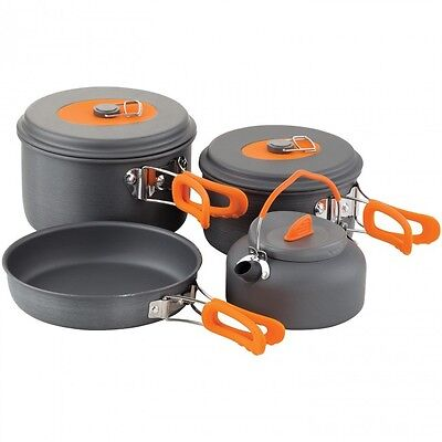 Chub NEW Carp Fishing All In One Compact Cookware Set with Kettle - 1404687