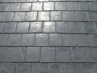 Fibreglass (Grp) Spanish Slate Tiled Effect Roofing Sheets