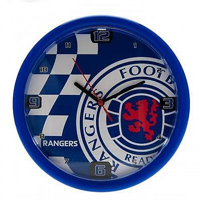 Glasgow Rangers F.C. Wall Clock CQ OFFICIAL LICENSED PRODUCT