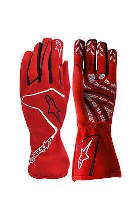 ALPINESTARS karting gloves TECH 1-K RACE RED kart racing S M L XL XXL