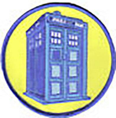 Doctor Who TV - Tardis Patch - Aufnäher Telefonzelle