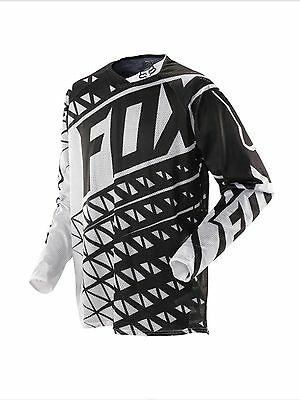 $55 Fox Racing Men's 360 Given Airline Jersey White Black Size L