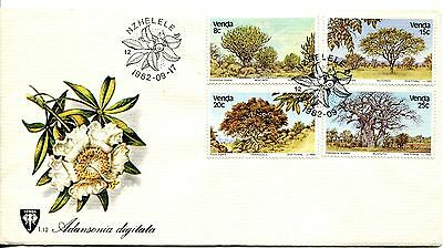 Venda 1982 Indigenous Trees FDC