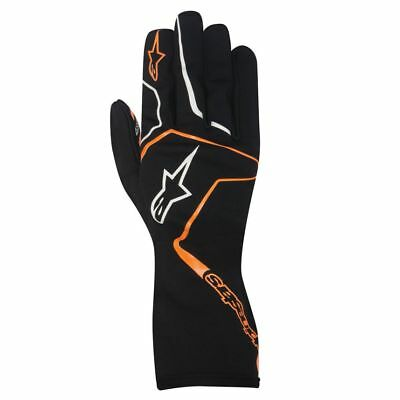 ALPINESTARS karting gloves TECH 1-K RACE BLACK ORANGE S M L XL XXL