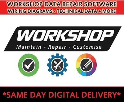 CAR WORKSHOP GARAGE - DATA SOFTWARE - Technical Repair/Labour Times/Invoicing