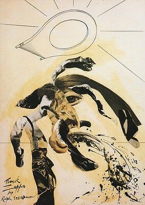 Frank Zappa - Frank Zappa By Ralph Steadman - A4 Photo Print