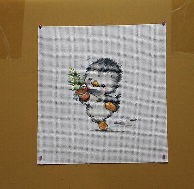 New completed finished cross stitch /Handmade/animal/cute/bird
