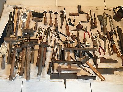 Job Lot Of A Mixed Vintage Tool Collection  Very Good Collection ££££