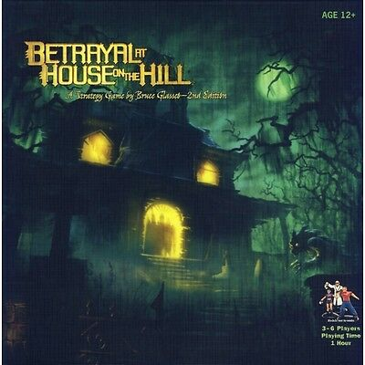 Betrayal at House on the Hill Brand New
