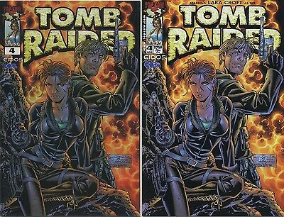 TOMB RAIDER #4 Chrome VARIANT Lara Croft NM Dynamic Forces COA LTD 1129/3000