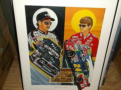 """""""Eye On The Competition"""" Print 137/1,000,(Signed by Sam Bass)No Certificate"""