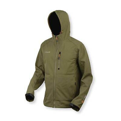 Prologic NEW Carp Fishing Green Waterproof Softshell Lite Jacket *All Sizes*