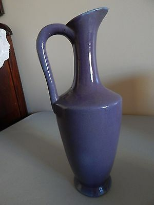 "UHL Pottery Grecian Jug #162 11 1/4"" h Purple and Blue - Nice"