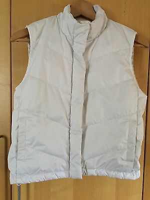 GAP white, sleeveless jacket / gilet - size XXL (age 13)