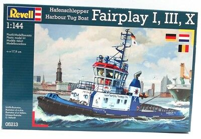 Revell 05213 Hafenschlepper Fairplay I,III,X 1:144