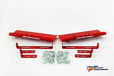 V-Plow Red Air Deflectors