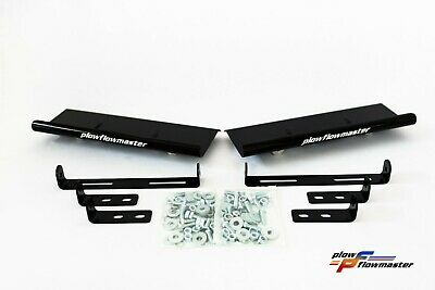 V-Plow Black Air Deflectors