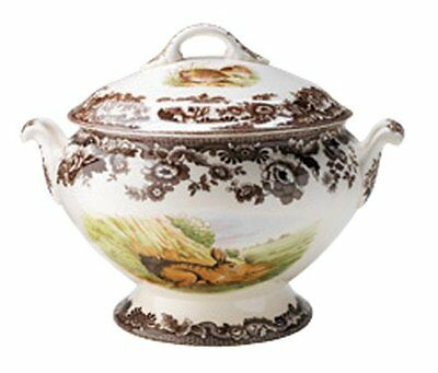 Spode Woodland Soup Tureen Brand New Woodlands