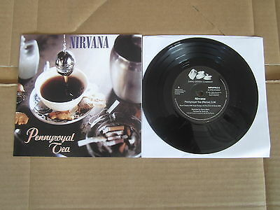"NIRVANA Pennyroyal Tea / I Hate Myself And Want To Die 7"" RARE NIRVPRO-3 ISSUE"