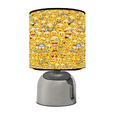 Emoji Emojis Touch Table Bedside Lamp Kids Room Brand New