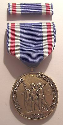 1899 Philippine Congressional Service Medal with RIBBON