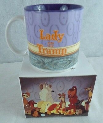 "Walt Disney's Classic ""lady And The Tramp"" Mug / Coffee Cup - New In Box"
