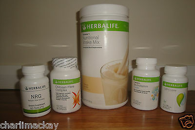Herbalife Quickstart Weight Loss Programme YOU CHOOSE F1 FLAVOUR EXP: 6/2017