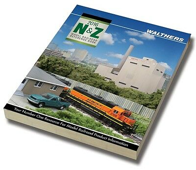 Walthers 913-256 2016 N Scale Reference Book
