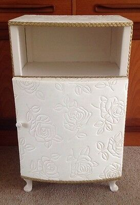 Vintage Retro Bedside Cabinet Table Original Condition Late 50's Early 60's