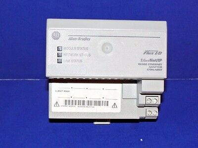 Allen Bradley 1794-AENT Series A Ethernet/IP 10/100 Mbs Flex I/O Adapter Module