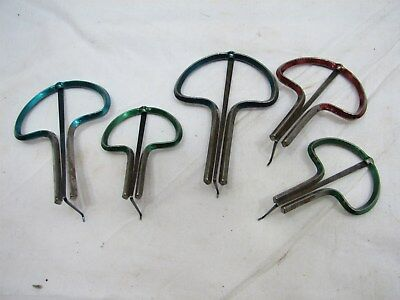 Set Vintage Mouth Harp Folk Instruments England Juice Jews Organ Ethnic Jaw