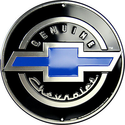 Genuine Chevrolet Circle  Sign