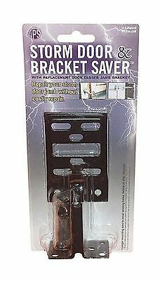 Innovative Products A-2W Storm Door And Bracket Saver ,Black